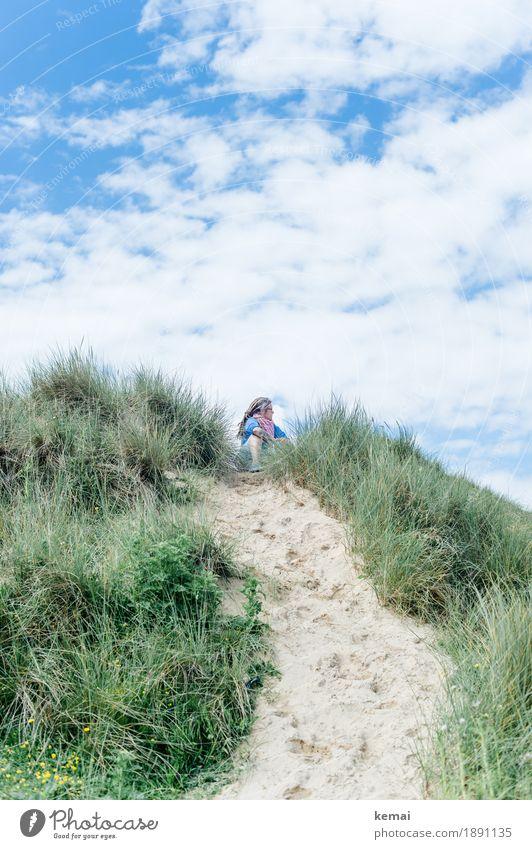 Fool on the hill Lifestyle harmonisch Wohlgefühl Zufriedenheit Erholung ruhig Freizeit & Hobby Ferien & Urlaub & Reisen Ausflug Abenteuer Ferne Freiheit