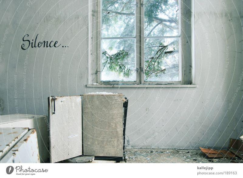 enjoy the ... weiß Baum Winter ruhig Haus Erholung Fenster Graffiti Raum Wohnung gehen Design Schatten Schriftzeichen Häusliches Leben Ast