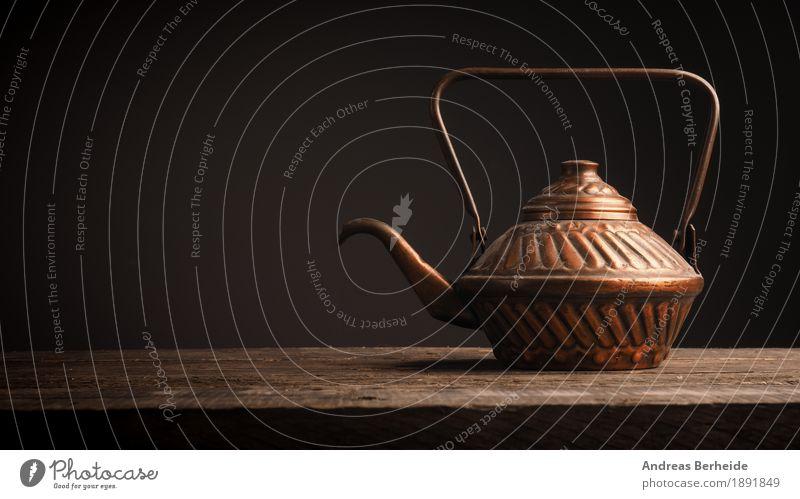 Teepause Erholung ruhig Lifestyle Stil retro Getränk Restaurant Tradition Container Kannen Teekanne