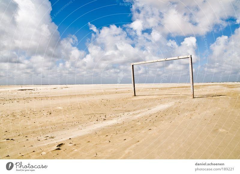 endlich - Winterpause vorbei !! Himmel weiß blau Sommer Strand Ferien & Urlaub & Reisen Meer Wolken Ferne Freiheit Wetter Wind Horizont Freizeit & Hobby Insel