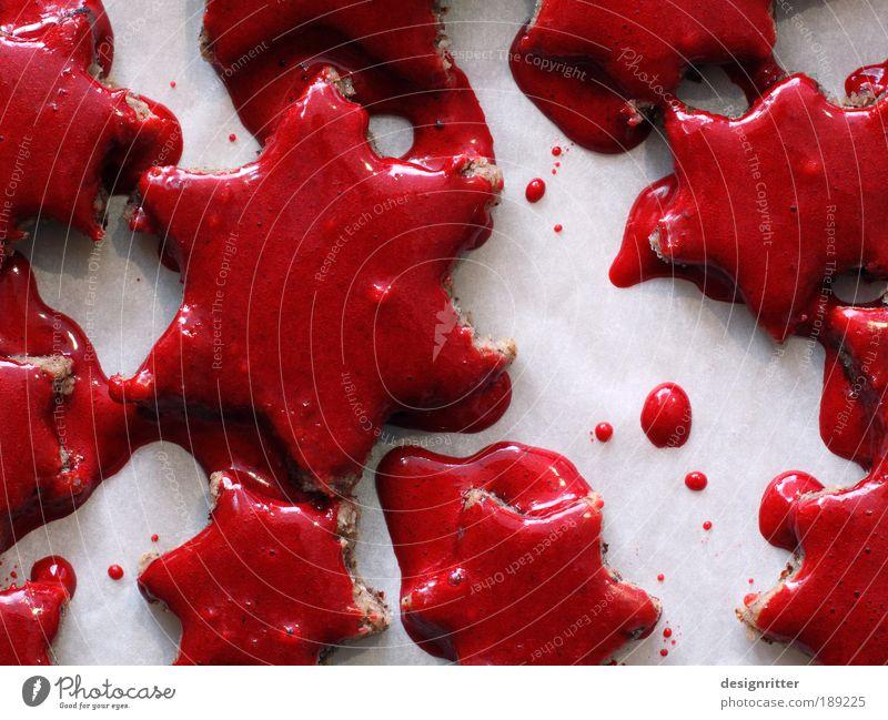 Scary Xmas Teigwaren Backwaren Plätzchen Weihnachtsgebäck Halloween Blut bedrohlich Ekel gruselig hässlich schön Tod Schmerz Angst Entsetzen Todesangst