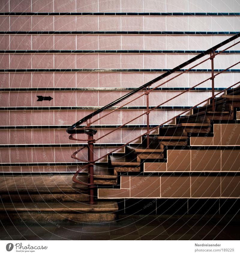 warm Design Innenarchitektur Arbeitsplatz Fabrik Industrie Energiewirtschaft Kohlekraftwerk Industrieanlage Architektur Mauer Wand Treppe Sehenswürdigkeit Stein