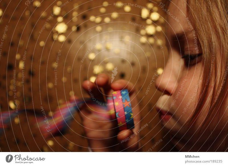 Pustekuchen Kind Freude Gesicht Spielen Party Feste & Feiern Freizeit & Hobby Geburtstag verrückt Kindheit Fröhlichkeit Kultur Show Dekoration & Verzierung Karneval blasen
