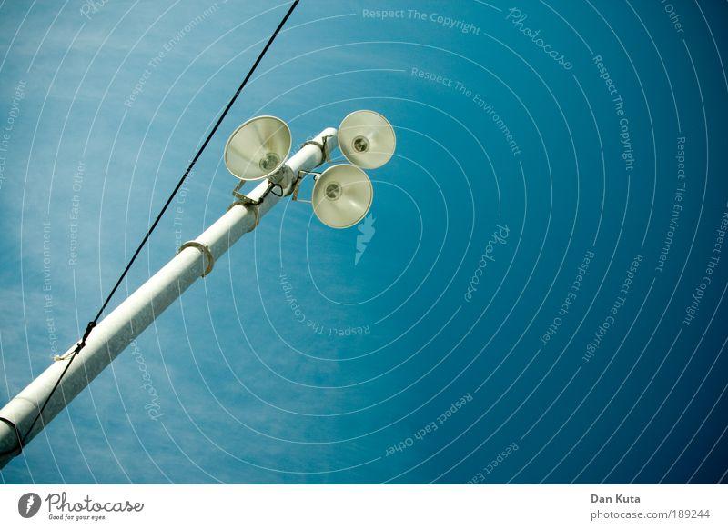 Dreigestirn blau Lampe Linie Beleuchtung Metall Glas Design ästhetisch Kabel Dekoration & Verzierung Kugel Schnur Laterne Spanien skurril Scheinwerfer