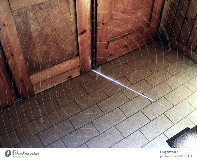 Lichteinfall Lifestyle Freizeit & Hobby Häusliches Leben Wohnung Haus elegant Warmherzigkeit einzigartig Tür Flur Fliesen u. Kacheln Parkett Paneele Fußmatte