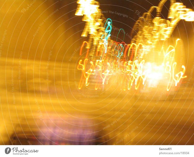 don't drink and drive Licht Rücklicht Streifen Langzeitbelichtung verwackeln lichterstreifen langzeitbelichtung Sankt Pauli-Elbtunnel schöne farben