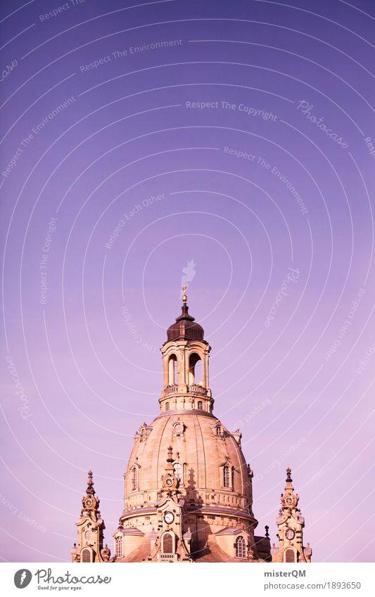 Steckst'e n Finger rein und... Architektur Religion & Glaube Gebäude Kunst ästhetisch Kirche Turm Altstadt Museum Dresden Kuppeldach Barock Frauenkirche