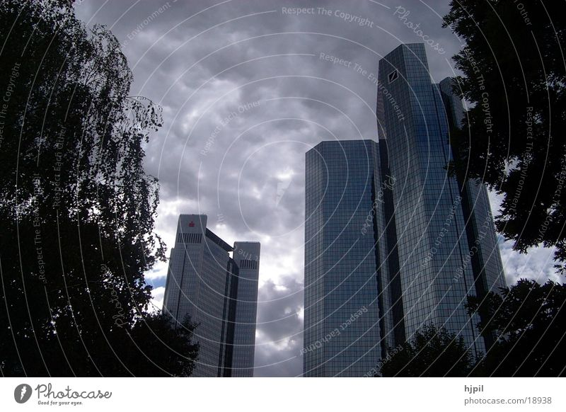 Hochhäuser Architektur Frankfurt/M