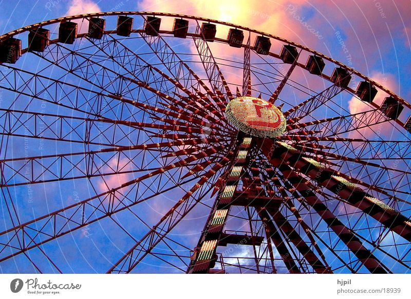 Riesenrad Jahrmarkt Freizeit & Hobby