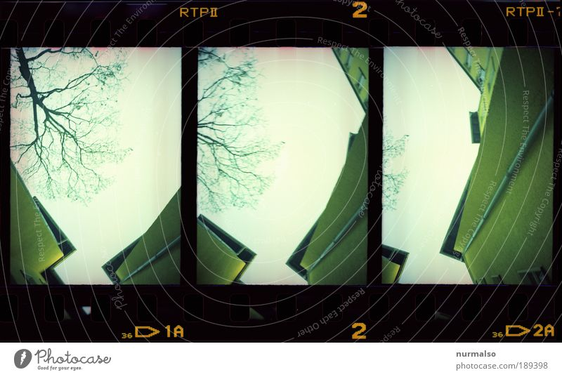 Eckzorzist in Serie Himmel Stadt Wand Stil Mauer Zufriedenheit Kunst Architektur Umwelt Fassade verrückt Treppe ästhetisch Ecke Dach Ast