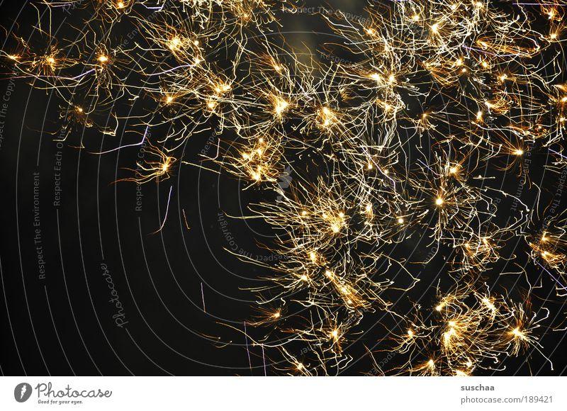 2010 hell leuchten hoffnung feuerwerk silvester nachthimmel Farbfoto Außenaufnahme Nacht Langzeitbelichtung Bewegungsunschärfe