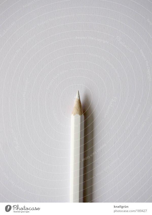 Minimalismus Papier Schreibstift Farbstift Holz zeichnen schreiben ästhetisch eckig Spitze weiß Ordnungsliebe Idee Inspiration Kommunizieren Kreativität