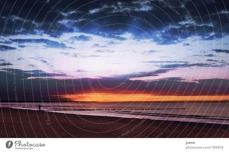 Besser als Schnee Mensch Himmel Mann blau Wasser Ferien & Urlaub & Reisen Sonne Meer Sommer Strand Wolken Erwachsene Ferne gelb Küste Freiheit