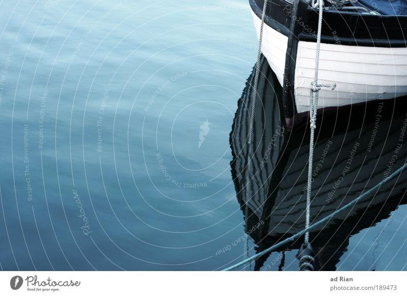 deep blue sea Meeresfrüchte Freizeit & Hobby Ausflug Wellen Segeln Handwerker Fischer Arbeitsplatz Seil Wasser Himmel Wolkenloser Himmel Sommer Schönes Wetter