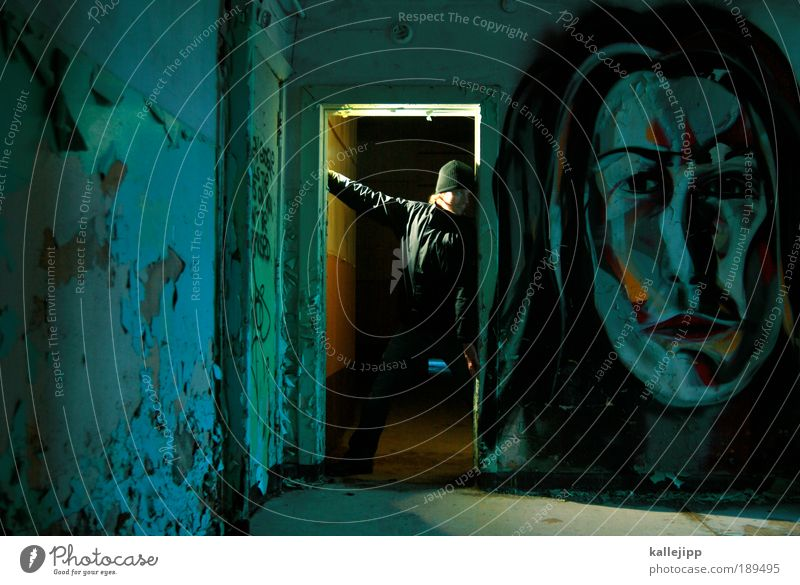 lady macbeth Mensch Frau Mann Erwachsene Gesicht feminin Graffiti Haare & Frisuren Kunst Angst maskulin Macht Kommunizieren Gemälde gruselig Theaterschauspiel