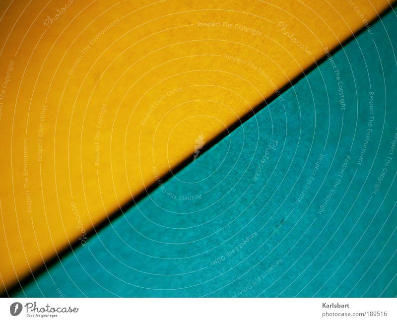 creative. suite. blau gelb Farbe Stil Linie Kunst Freizeit & Hobby Design Papier Lifestyle Ecke Häusliches Leben Streifen Bildung Dekoration & Verzierung