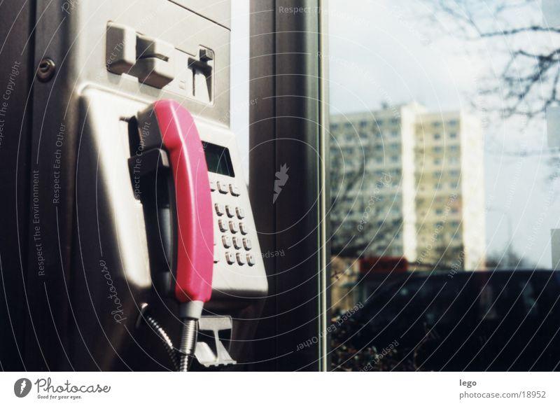 öffentliches Telefon Stadt Haus Dienstleistungsgewerbe