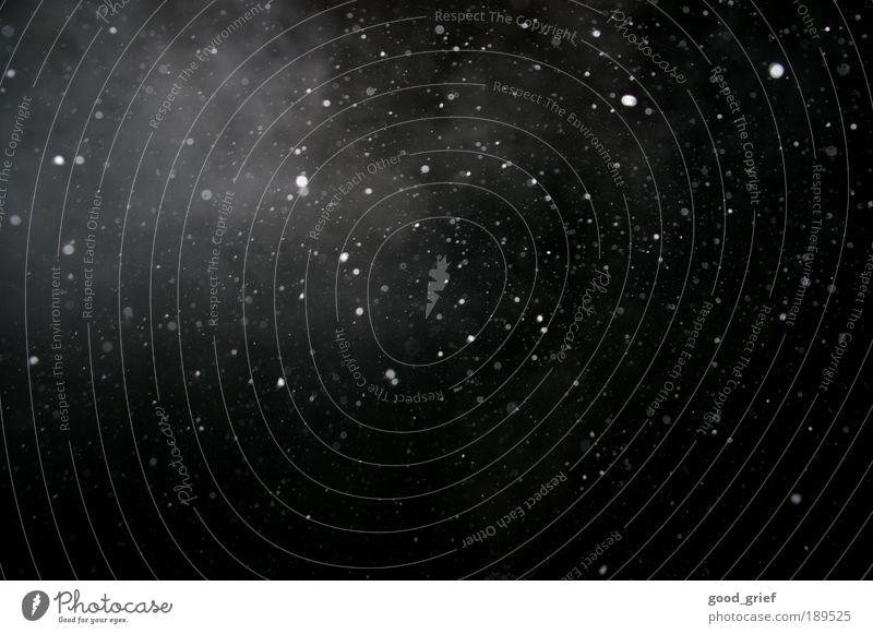 the fog Kunst Umwelt Schneefall Schneeflocke Winter Himmel Nachthimmel Himmelskörper & Weltall Stern Sonnenfinsternis Mond Nebel Wolken Wasserdampf Punkt weiß