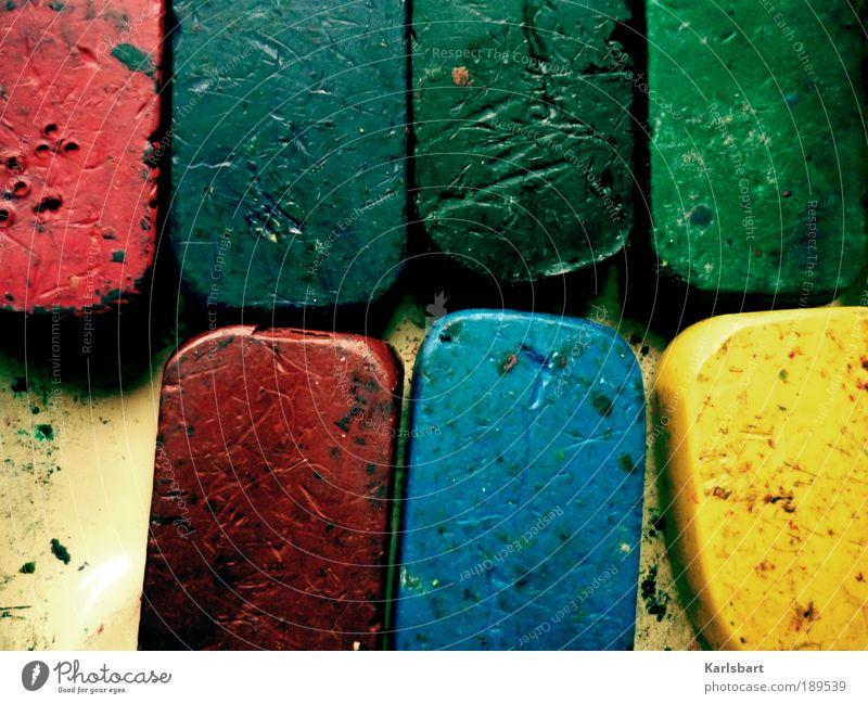 wax. Farbe Spielen Kunst Lifestyle Design Strukturen & Formen Häusliches Leben Freizeit & Hobby Kreativität Idee malen Bildung Kindergarten Schreibstift Kultur mehrfarbig