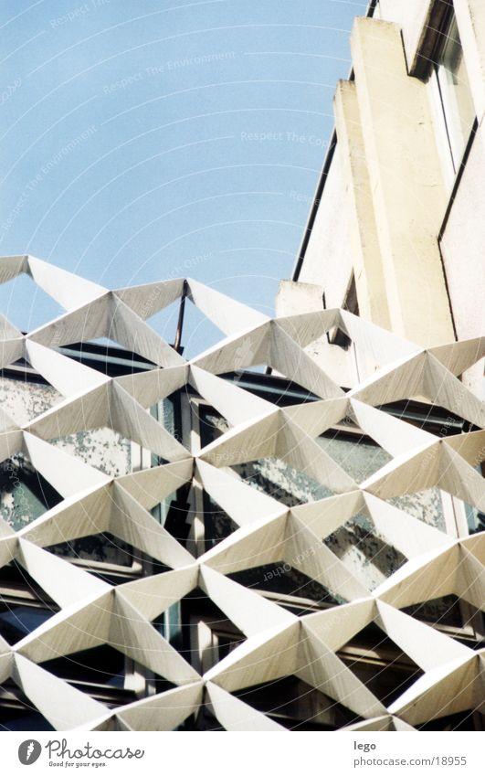 Sterne Siebziger Jahre Architektur Detail der Stadt- und Landesbibliothek Potsdam DDR Architektur