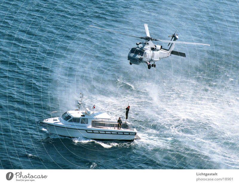 hubschrauber Wasserfahrzeug Technik & Technologie Rettung Hubschrauber Elektrisches Gerät