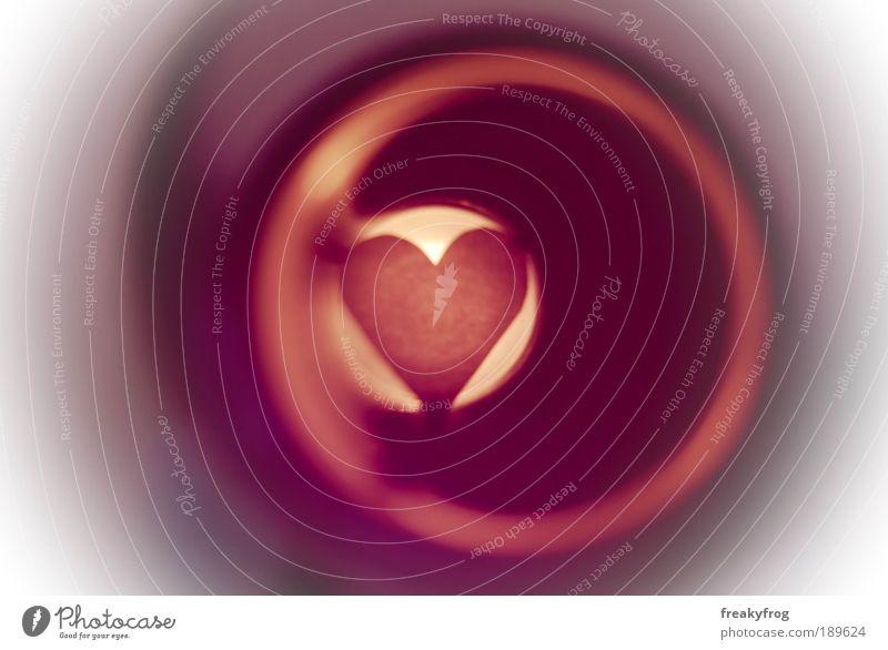 Licht am Ende des Glases Freude Liebe Gefühle Glück Stimmung Zufriedenheit Zusammensein Herz Fröhlichkeit Romantik Leidenschaft Lebensfreude Verliebtheit
