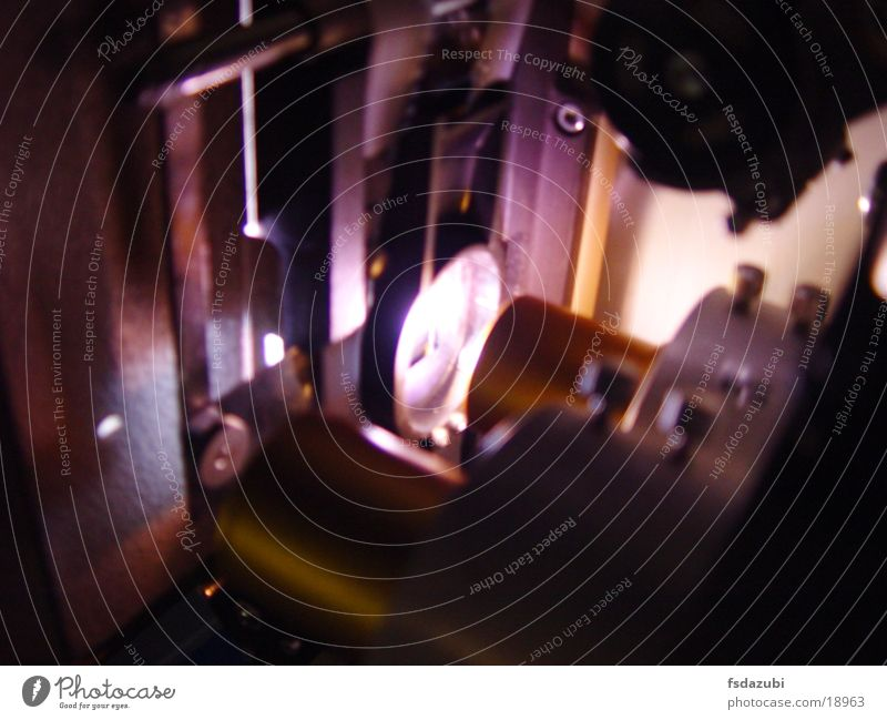 Projektor3 Kino Licht Elektrisches Gerät Technik & Technologie Objektiv Linse Filmindustrie