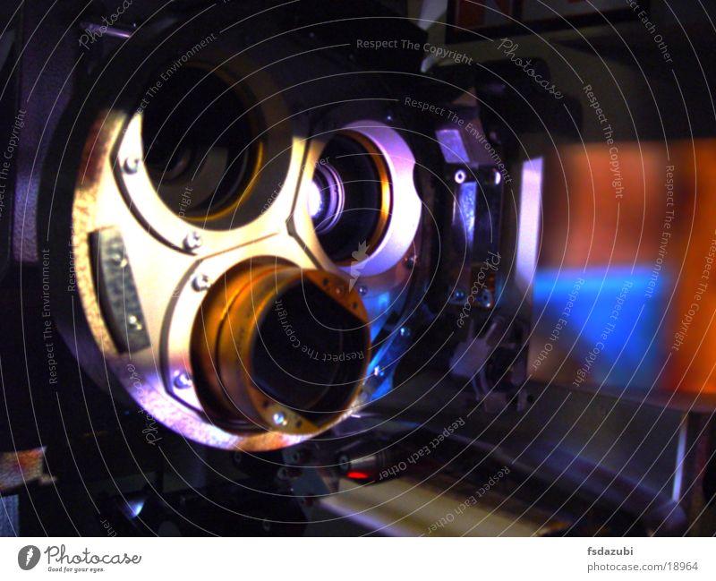 Projektor2 Kino Licht Elektrisches Gerät Technik & Technologie Objektiv Linse Filmindustrie Projektion
