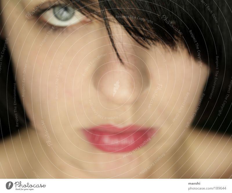 * Frau Mensch Jugendliche schön Einsamkeit Gesicht Erwachsene Auge feminin Gefühle Haare & Frisuren Traurigkeit Stimmung Mund Haut Hoffnung