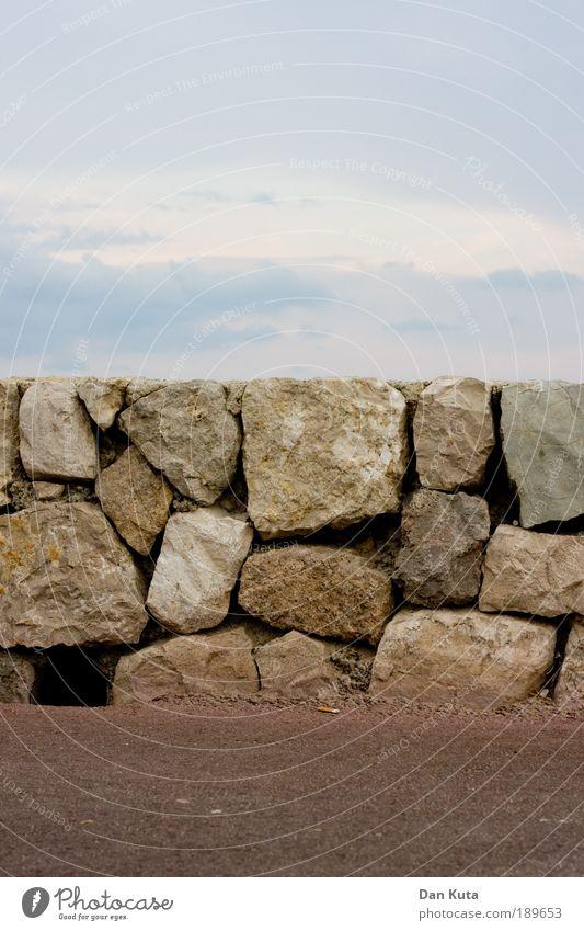 Querschnitt Natur Himmel Sommer Ferien & Urlaub & Reisen Wolken Stein Sand Luft Zufriedenheit braun Umwelt Felsen Teile u. Stücke ästhetisch Loch Urelemente