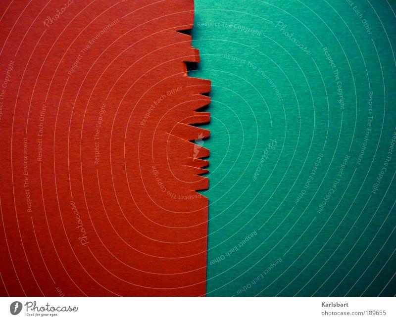 scheren. schnitt. Farbe Stil Linie Kunst Freizeit & Hobby Muster Design Papier Lifestyle Häusliches Leben Streifen Bildung Dekoration & Verzierung mehrfarbig