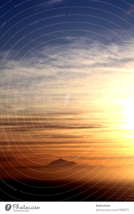 motiv bereits zu häufig vertreten Himmel Natur Sonnenuntergang Ferien & Urlaub & Reisen Meer Wolken Einsamkeit Ferne Freiheit Berge u. Gebirge Landschaft