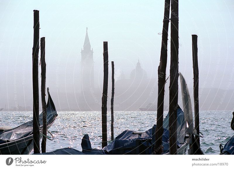 Lido im Nebel Wasserfahrzeug Europa