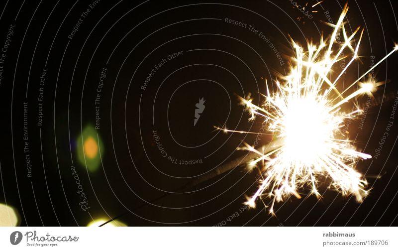 light Kunst Zeit Kerze Silvester u. Neujahr Makroaufnahme