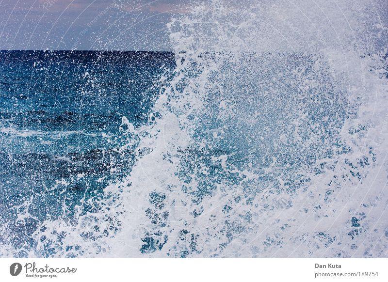 Gesundheit! Himmel Natur Wasser Meer Küste Wetter Wellen Wassertropfen Klima Urelemente stoppen Sturm Gewalt Unwetter stark durcheinander