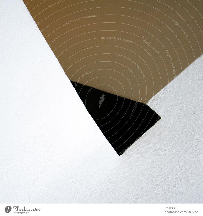 L weiß Stil Linie braun Architektur Design elegant Beton Lifestyle Perspektive Treppe ästhetisch Coolness einfach Sauberkeit