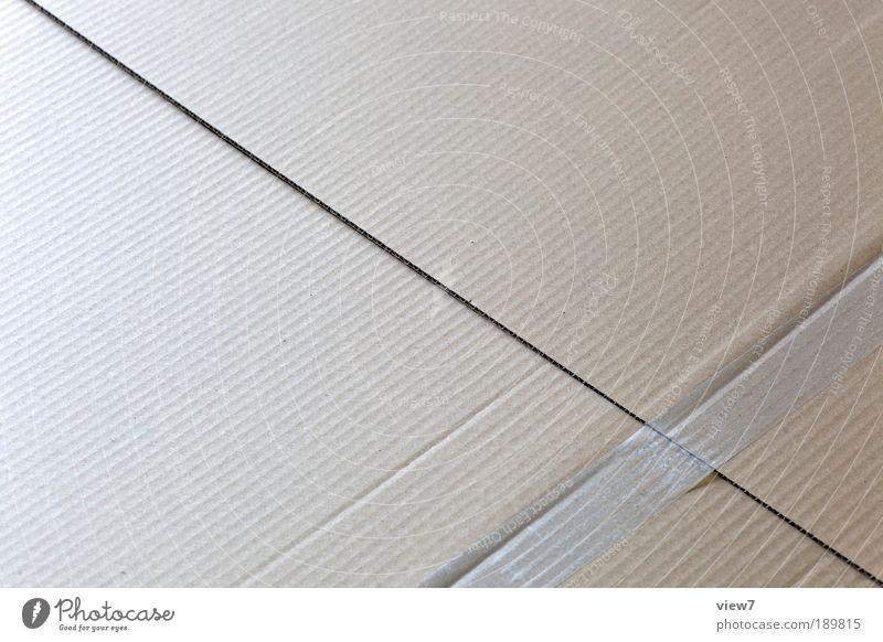 Diagonale alt oben Linie elegant Design modern ästhetisch Streifen authentisch einzigartig einfach dünn Papier Zeichen Schnur Kasten