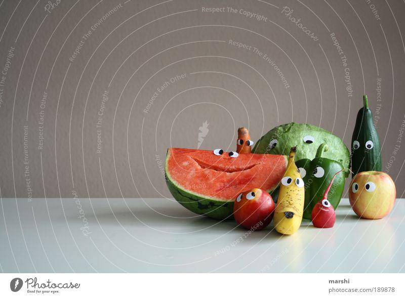 >200< good for your eyes Gemüse Freude Auge Leben Ernährung Farbe Gefühle Lebensmittel Gesicht klein Gesundheit lustig Frucht Kopf Fröhlichkeit Pflanze