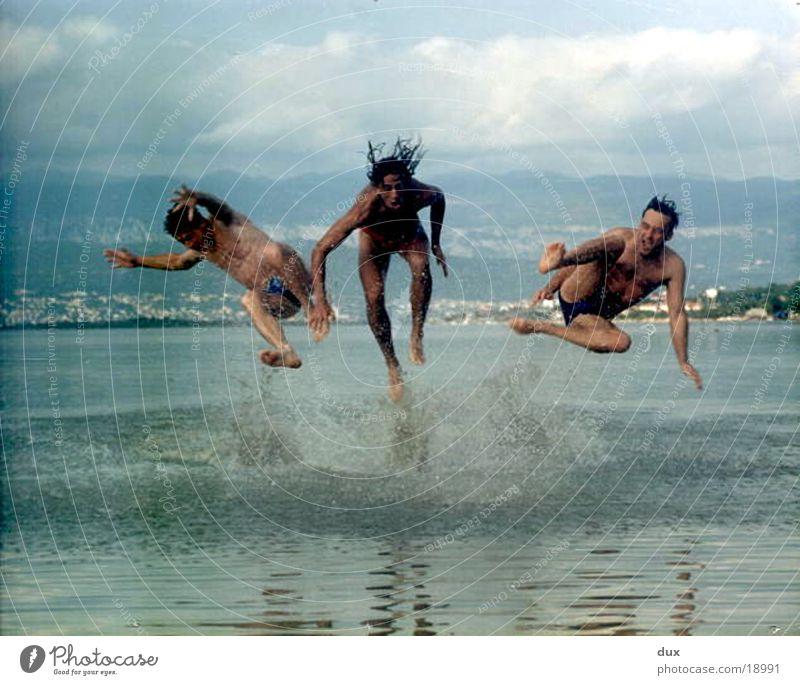 focus Wasser Freude Ferien & Urlaub & Reisen springen Europa