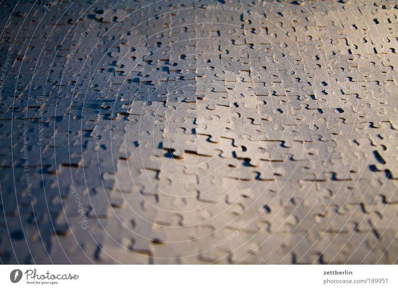 Puzzle Hintergrundbild Ordnung Spielzeug Rätsel Textfreiraum Strukturen & Formen Synthese Rückseite