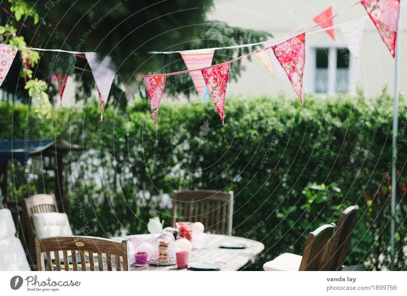 Kindergeburtstag Lebensmittel Kuchen Dessert Süßwaren Ernährung Kaffeetrinken Häusliches Leben Garten Feste & Feiern Muttertag Geburtstag Freude Party Fahne
