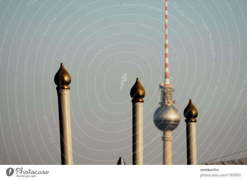 Fernsehturm Berliner Fernsehturm alex Alexanderplatz Naher und Mittlerer Osten Stab Kuppeldach Zirkus Kulisse