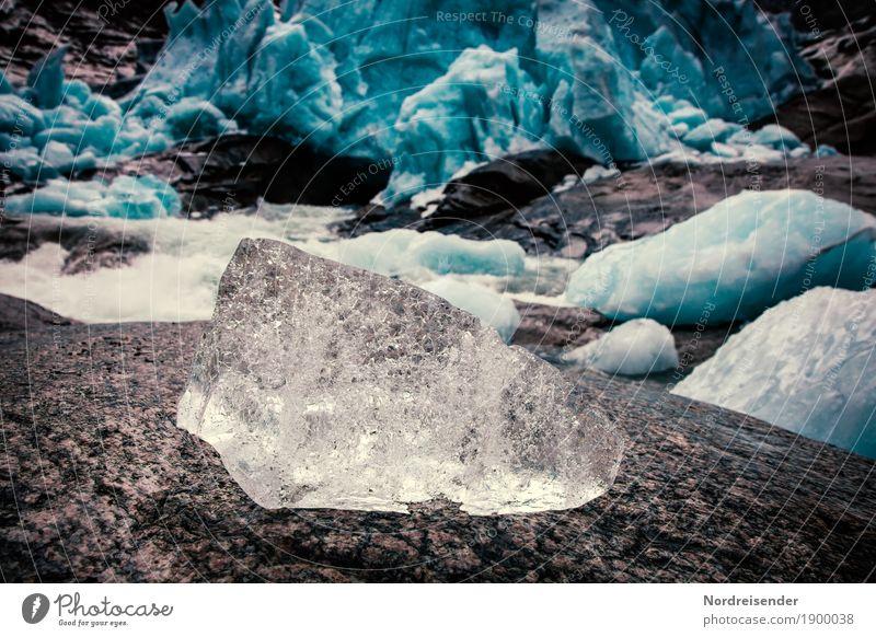 Eiswürfel Natur Ferien & Urlaub & Reisen Wasser Landschaft Ferne dunkel Berge u. Gebirge Umwelt Stein Felsen wandern Klima Abenteuer Vergänglichkeit kaputt