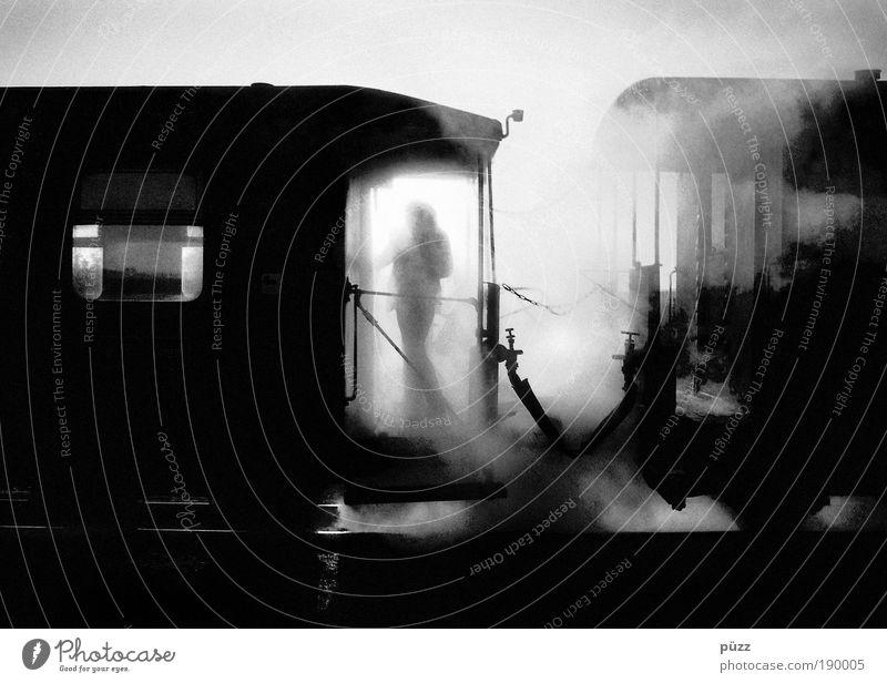 Roland Ausflug Mensch 1 Verkehrsmittel Personenverkehr Öffentlicher Personennahverkehr Bahnfahren Schienenverkehr Eisenbahn Lokomotive Dampflokomotive