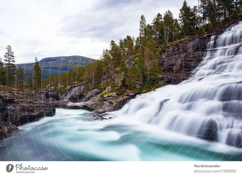Idylle Natur Ferien & Urlaub & Reisen Sommer Wasser Landschaft Einsamkeit Ferne Wald Berge u. Gebirge Frühling Freiheit Tourismus Felsen Wetter wandern