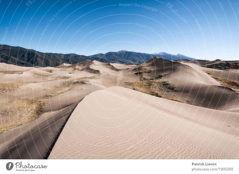 Great Sand Dunes National Park, Colorado Himmel Ferien & Urlaub & Reisen Natur Sommer Landschaft Erholung Ferne Wärme Umwelt Tourismus Ausflug Zufriedenheit