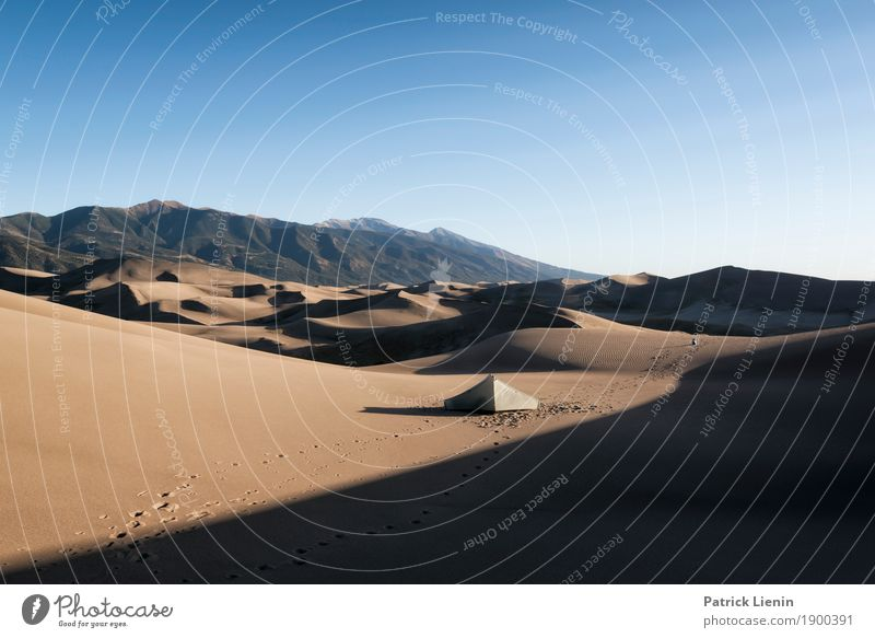 Great Sand Dunes National Park, Colorado Ferien & Urlaub & Reisen Natur Sommer Landschaft Erholung Berge u. Gebirge Wärme Umwelt Ausflug Zufriedenheit Wetter