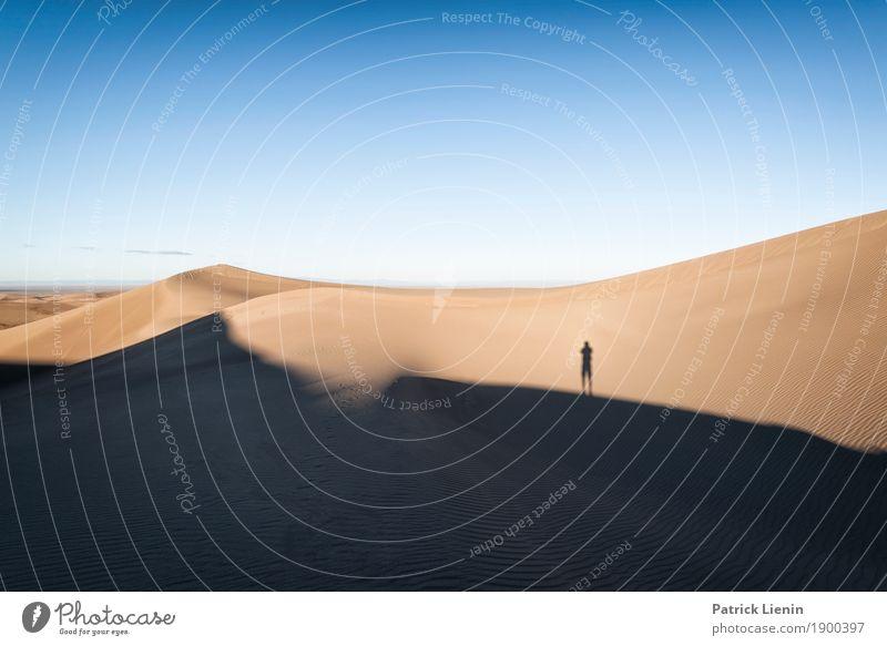 Great Sand Dunes National Park, Colorado Mensch Himmel Ferien & Urlaub & Reisen Natur Sommer Erholung ruhig Ferne Umwelt Freiheit Ausflug wandern Wetter