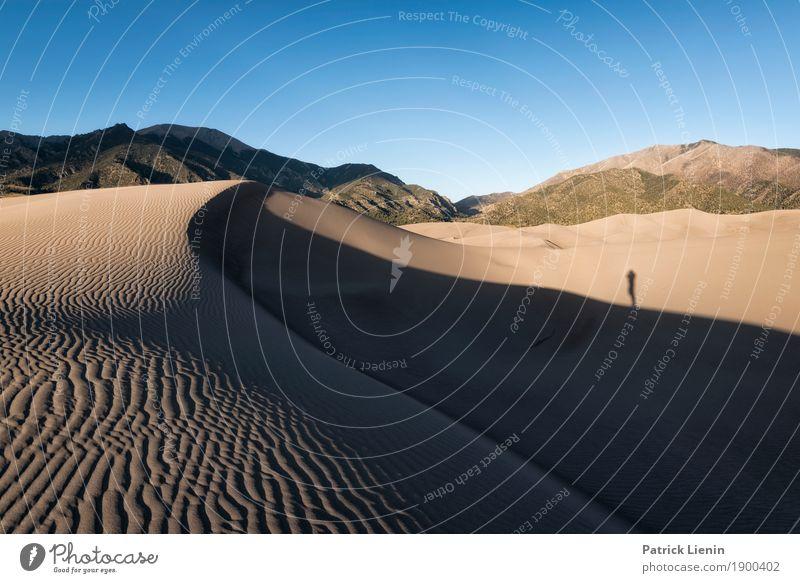 Great Sand Dunes National Park, Colorado Mensch Himmel Ferien & Urlaub & Reisen Natur Sommer Erholung ruhig Ferne Berge u. Gebirge Zufriedenheit wandern Wetter