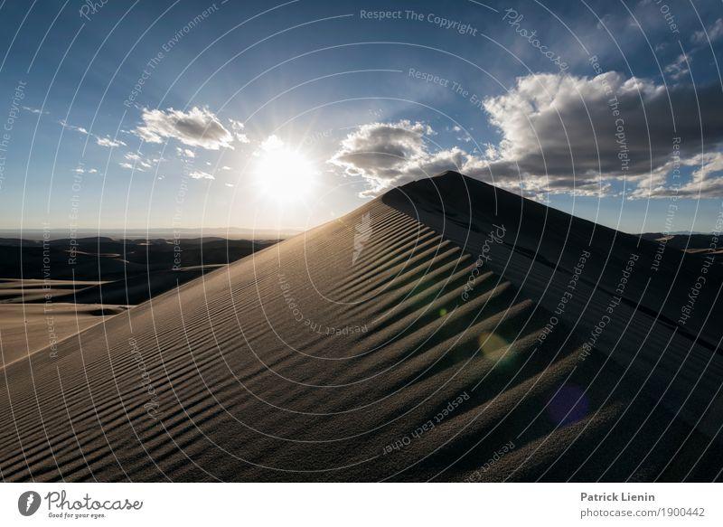 Great Sand Dunes National Park, Colorado Himmel Ferien & Urlaub & Reisen Natur Sommer Landschaft Sonne Wolken Ferne Umwelt Freiheit Ausflug Wetter Abenteuer
